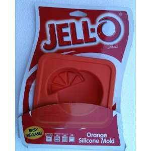 Jello Orange Mini Silicone Mold (1): Home & Kitchen