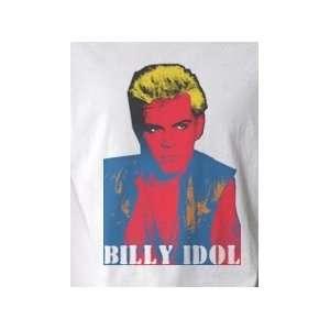 Billie Idol Pop Art Graphic T shirt (Mens Small