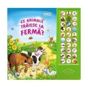 Ce animale traiesc la ferma? (9789731972473): Fara autor
