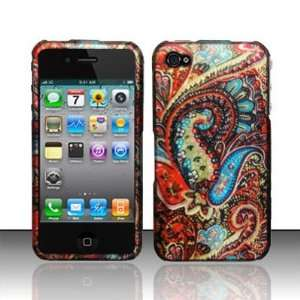 Apple Iphone 4, 4s Phone Protector Hard Cover Case Enticing Peacock