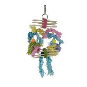 Lots Of Knots Bird Toy 11in Small to Medium Bird Toy Pet Supplies