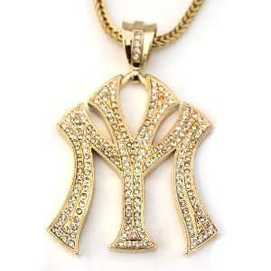 Gold Plated Ice Young Money Lil Wayne Young Money Pendant