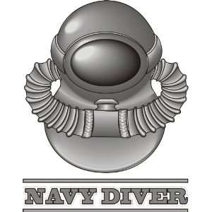 US Navy Diver Decal Sticker 5.5 Everything Else