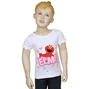 Sesame Street Elmo Toddler Girls Shirt 5T Baby