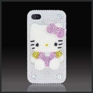 Pearl & Pink Bling 3D Hello Kitty Elite Collection Luxury glass