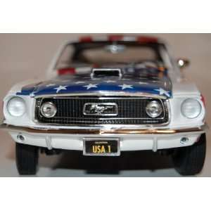 1968 Ford Mustang US Flag Design ERTL   American Muscle 1