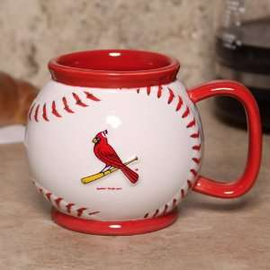 St. Louis Cardinals 16oz. Baseball Mug Sports & Outdoors