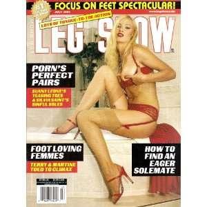 Leg Show July 2006 Sunny Leone: LEG SHOW:  Books