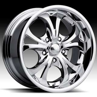 18 x8 Boss 304 3046 Chrome Wheels Rims 5 6 8 Lug