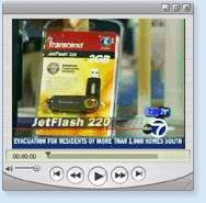16 GB Secure Flash Drive USB TRANSCEND JF220 Biometrics
