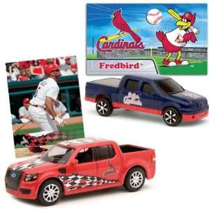 St. Louis Cardinals Ford SVT Adrenalin Concept and F 150 Die Cast Cars