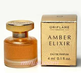 ORIFLAME   AMBER ELIXIR (CHRISTMAS EDITION) EAU DE PARFUM 4 ML / 0.13