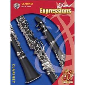 Alfred Band Expressions Book Two Student Edition Clarinet Book