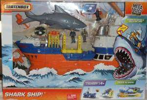 MATCHBOX MEGA RIG Building System SHARK SHIP BNIB