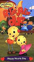 Rolie Polie Olie Happy Hearts Day VHS, 2001