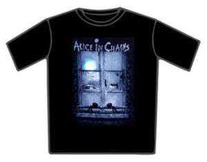 NEW ALICE IN CHAINS Looking View T Shirt VARIOUS SZ