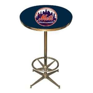 New York Mets 40in Pub Table Home/Bar Game Room