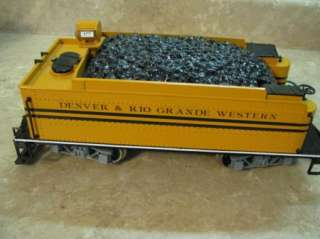 BACHMANN #177 Steam Engine & Tender Car TRAIN G SCALE