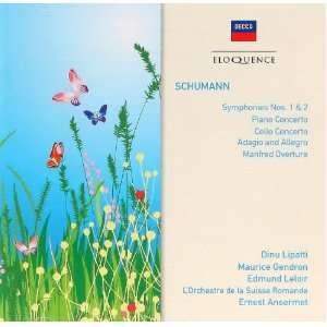 Pno Cto/Clo Cto: Schumann, Gendron, Lipatti, Osr, Ansermet: Music