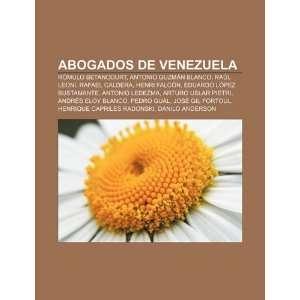 Abogados de Venezuela Rómulo Betancourt, Antonio Guzmán