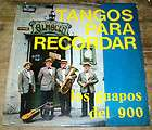 LOS GUAPOS DEL 900 ANGOS PARA RECORDAR ARGENINA LP