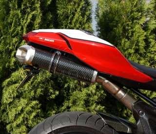 Spark Titanium Race Slip ons Ducati 848 1098 1098S 1198