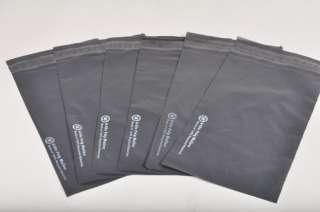 300 10x13 PRIVACY RECYCLE NOT SELF SEAL BLACK POLY MAILERS ENVELOPE