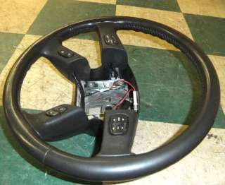 03 06 Avalanche Leather Steering Wheel Audio Cruise Tahoe Suburban