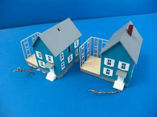 HO Scale Model Train Building Buildings Houses Structures PARTS LOT