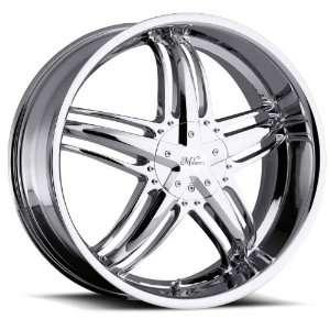 Force 5x115 5x127 5x5 +32mm Chrome Wheels Rims Inch 22 Automotive