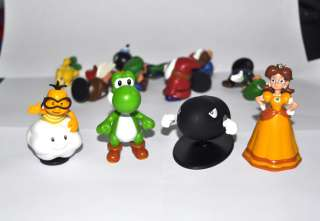 Super Mario Bros 1.5~2.5 Lot 18 pcs Action Figure Doll