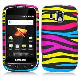 Zebra Hard Case Cover for Boost Mobile Samsung Transform Ultra