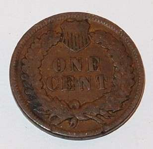 1898 U.S. INDIAN HEAD One 1 CENT PENNY Small cent COIN |