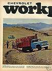 1965 Chevy Chevrolet Fleetside Platform Pickup Truck Ad