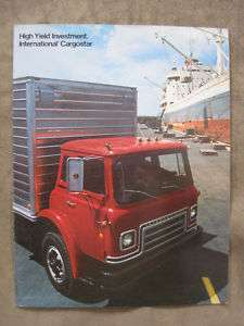 1974 International Cargostar Truck brochure