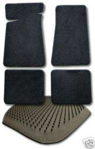 1992 1993 CADILLAC COUPE DEVILLE 4pc CARPET FLOOR MATS