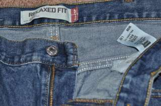 Levis 550 relaxed fit mens jeans 38 x 32, 38x32 EXC