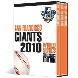 2010 World Series Champions DVD BOX SET   San Francisco