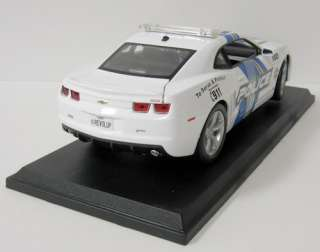 2010 Chevrolet Camaro SS RS Diecast Model Police Car   Maisto   118