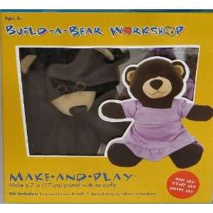 Build   A   Bear Workshop Make   And   Play 7 Dark Brown