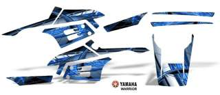 Yamaha Warrior 350 ATV Graphic Decal Sticker Kit #2001