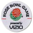 2011 Rose Bowl Patch Wisconsin Badgers TCU Horned Frogs