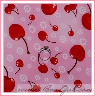 BOOAK Fabric Classic Strawberry Shortcake Pastel Stripe Heart Cat Ice