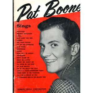 Pat Boone Sings: Robbins Music Corporation: Books