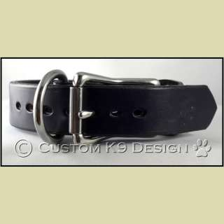 NEW Handcrfted 1 Leather Collar SM 3XL Black Brown Tan