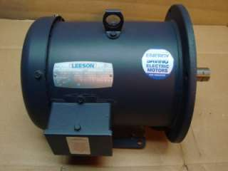 PH 5 HP Leeson Energy Saving Electric Motor C184T17FB40 #21904