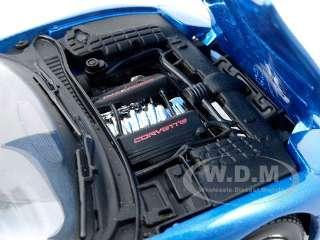Brand new 124 scale diecast model of Chevrolet Corvette C5