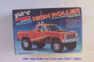 GRILL NOW Pickup HIGH ROLLER #2273 Monogram 1:24 Model Kit