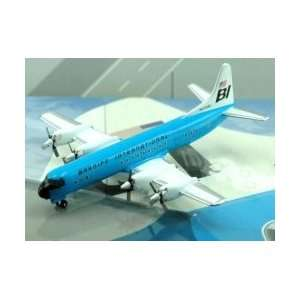 Jet X Braniff L 188 Blue Model Airplane Toys & Games