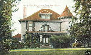 Mansfield,OH.The W.S.Kerr Residence on Park Avenue West